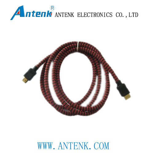 HDMI Cable Assembly with Metal Overmold and Signal Amplifier Technology