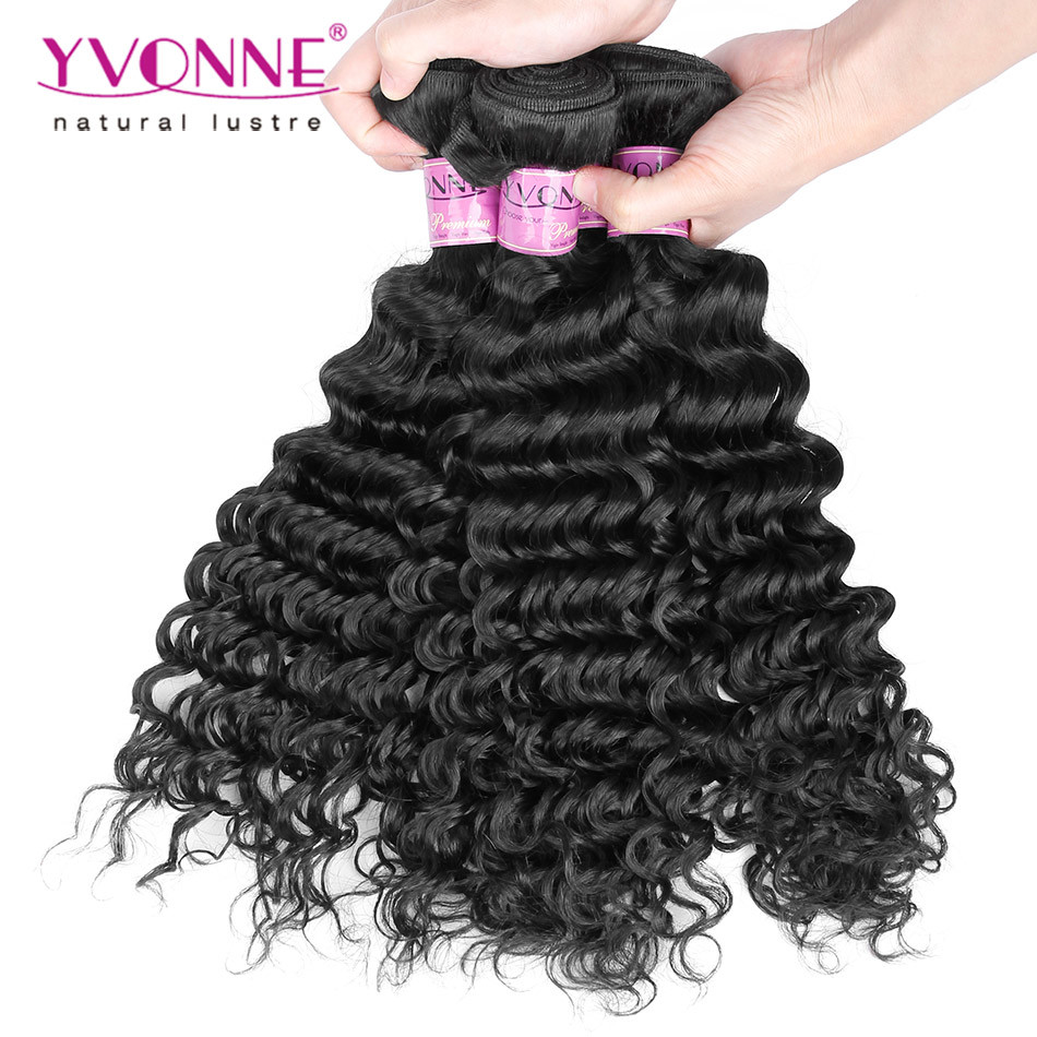 Deep Wave Indian Remy Hair Weft