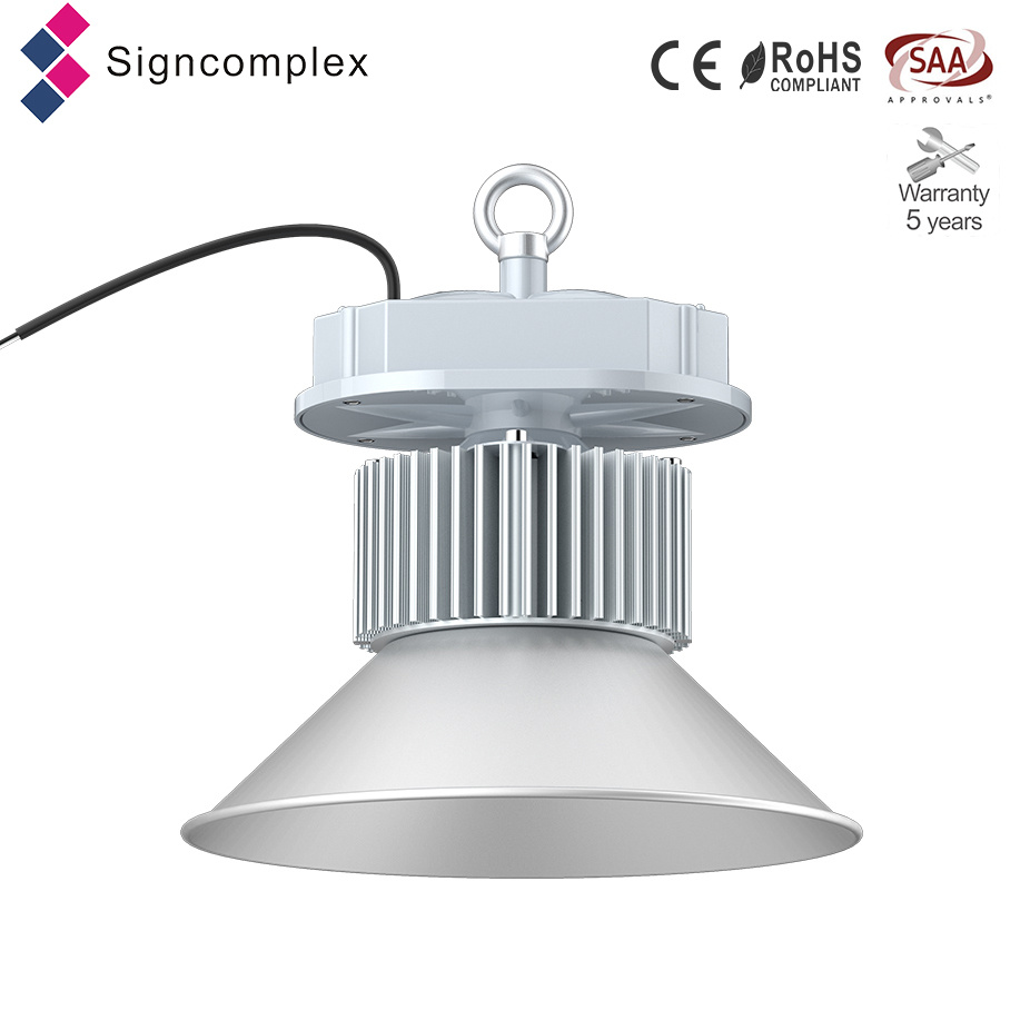 Frosted Lampshade Structural Waterproof 150W High Bay LED Lights