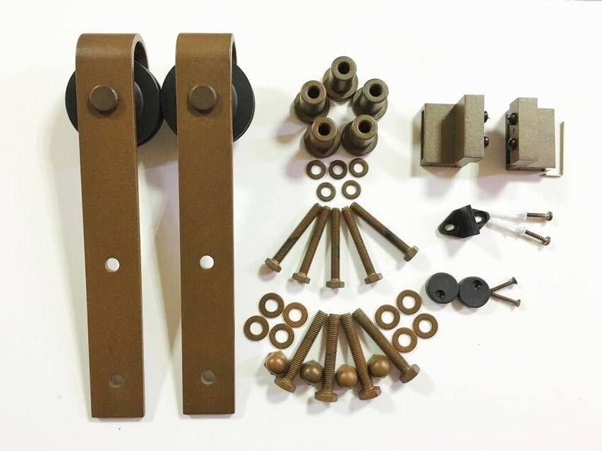 Stainless Steel Barn Door Stay Roller Soft Close Hardware