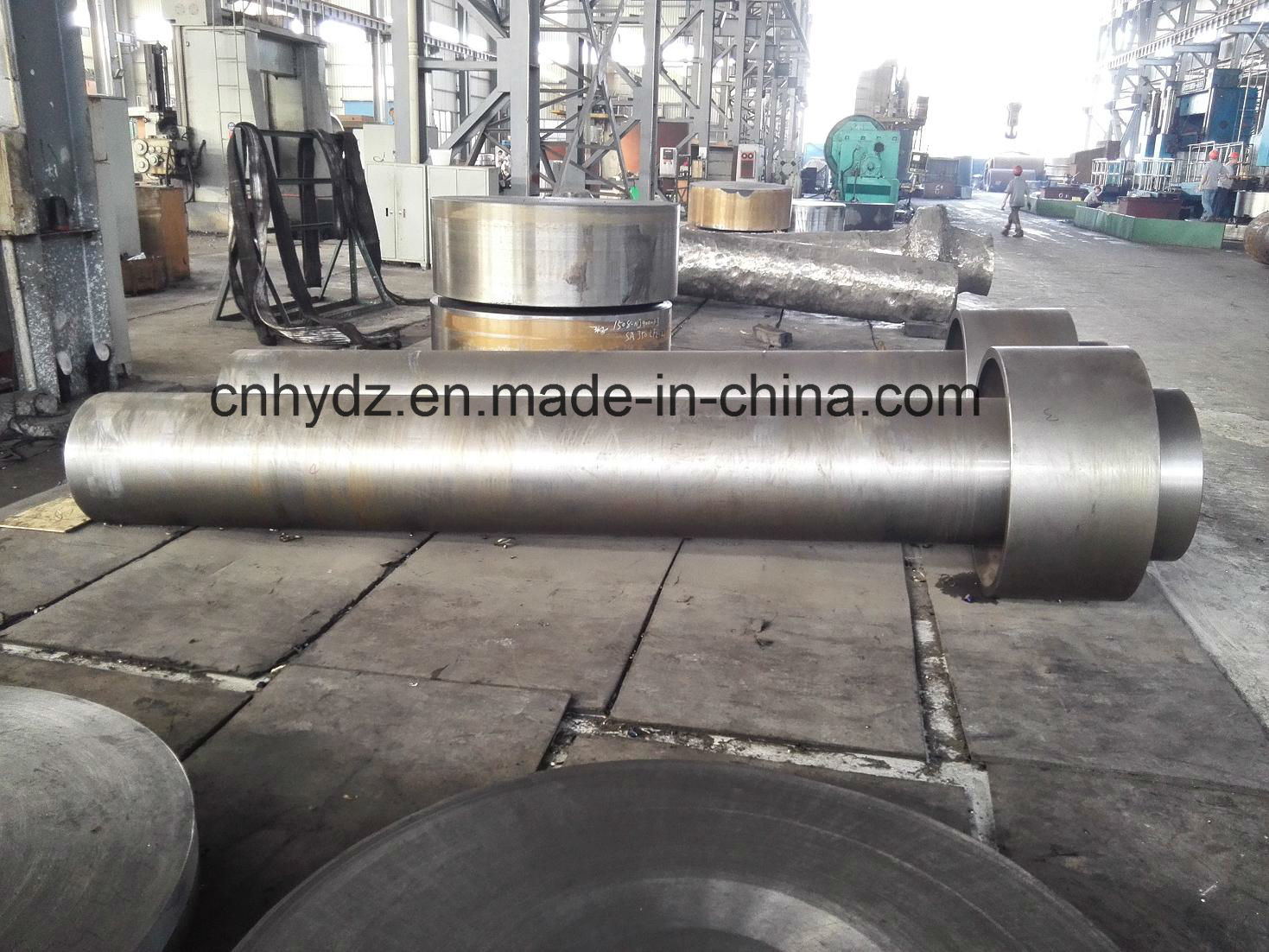 Hot Forged Shaft of Material 1.4662 (X2CrNiMoN22-5-3) Duplex Stainless Steel