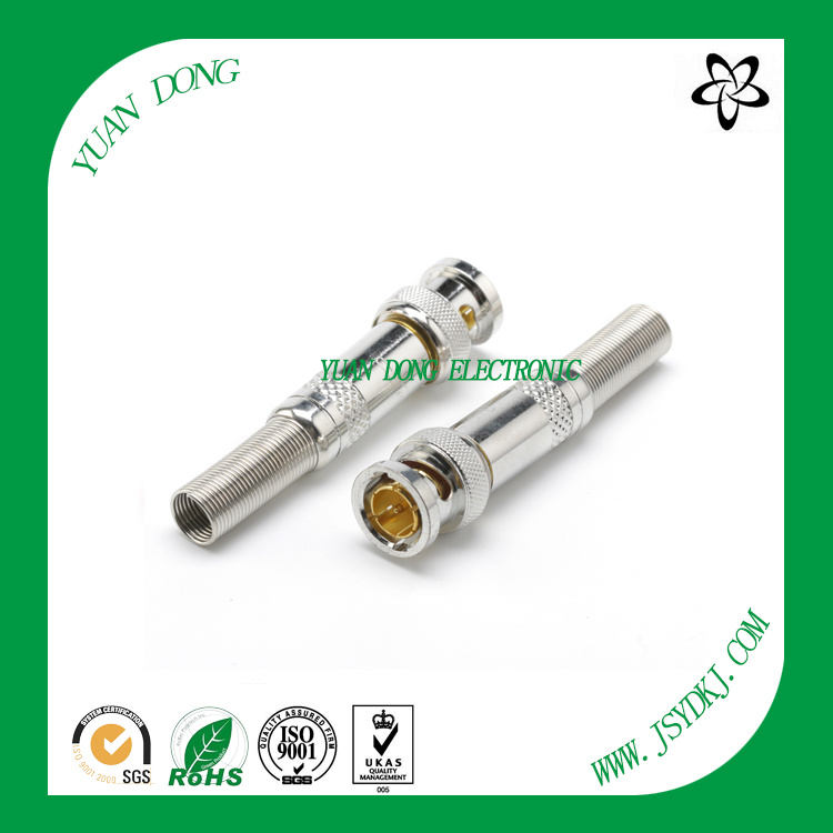 BNC Male Compression Connector Professional Connector Factory