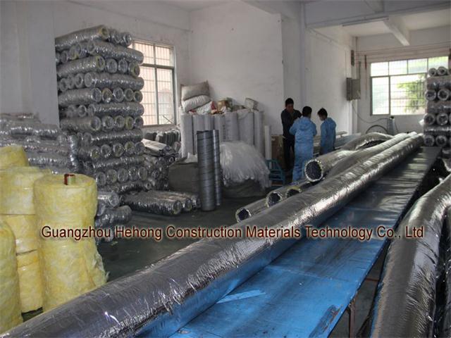 Aluminium Glass Fabric Insulated Flexible Duct (HH-C)