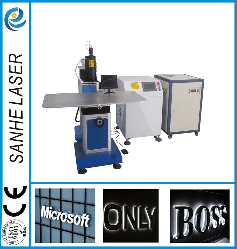 YAG Pulse Laser Welding Machine for Channel Letters Soldering Logo