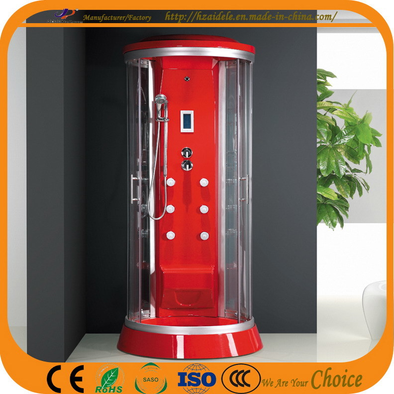 Luxury Round Tray Red ABS Shower Room (ADL-867)