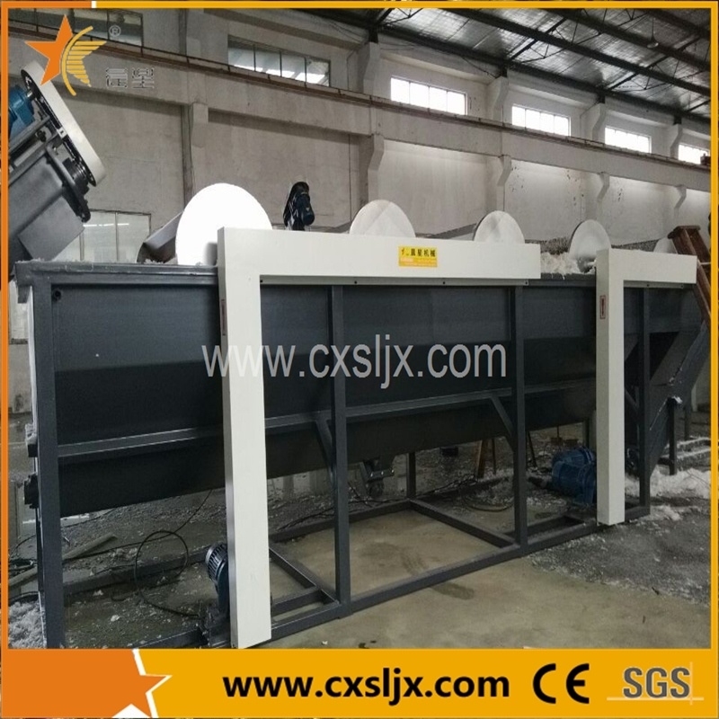 Waste PP/PE Film Crushing Washing Drying Production Line
