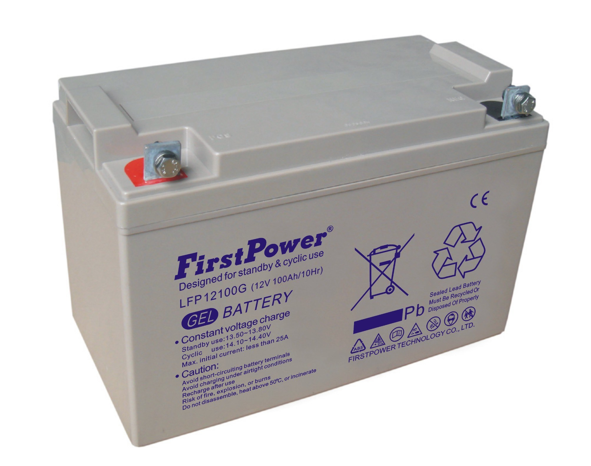 12V AGM Gel Battery (LFP12100G)