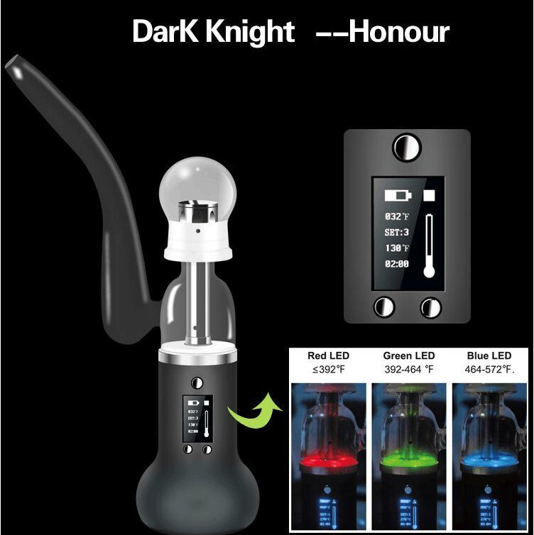 Top Grade Patent E Cig, Jomo Dark Knight Honour with Wholesale Dry Herb Hookah Shisha