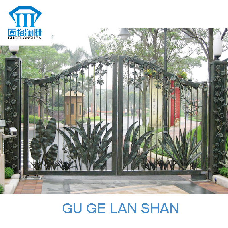 High Quality Crafted Wrought Iron Gate 007