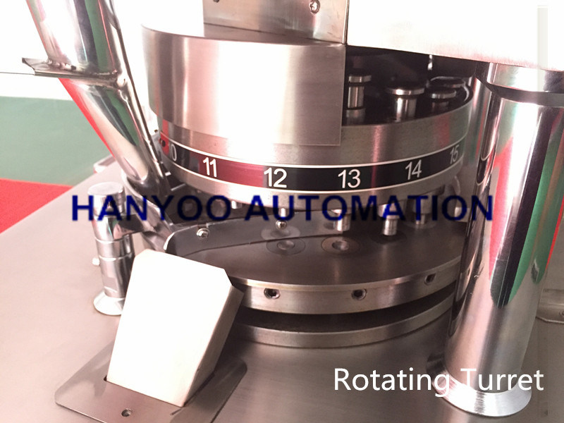 Zp-23/25/27D Automatic Rotary Tablet Press Machine