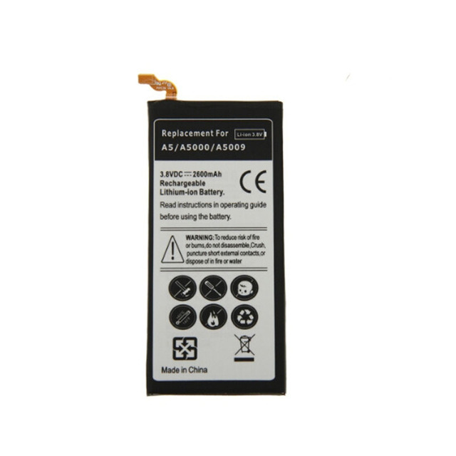 3.8V 2600mAh Phone Battery for Samsung Galaxy A5 A5000 A5009
