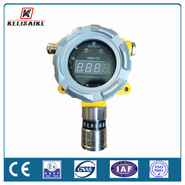Online 4-20mA Oxygen Content Safety Monitor Fixed O2 Gas Detector