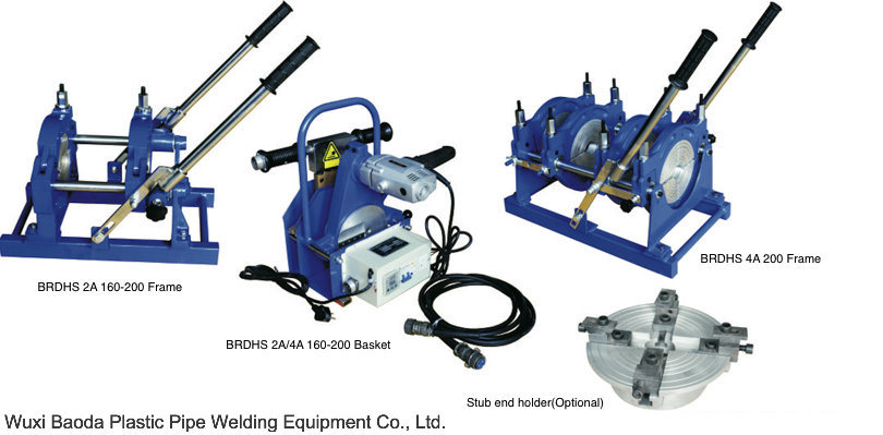 Plastic Pipeline Welding Machine (BRDHS-2A/4A 160-200, Manual)