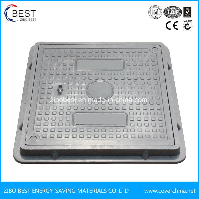 Zibo Best En124 Composite Resin Square Manhole Cover