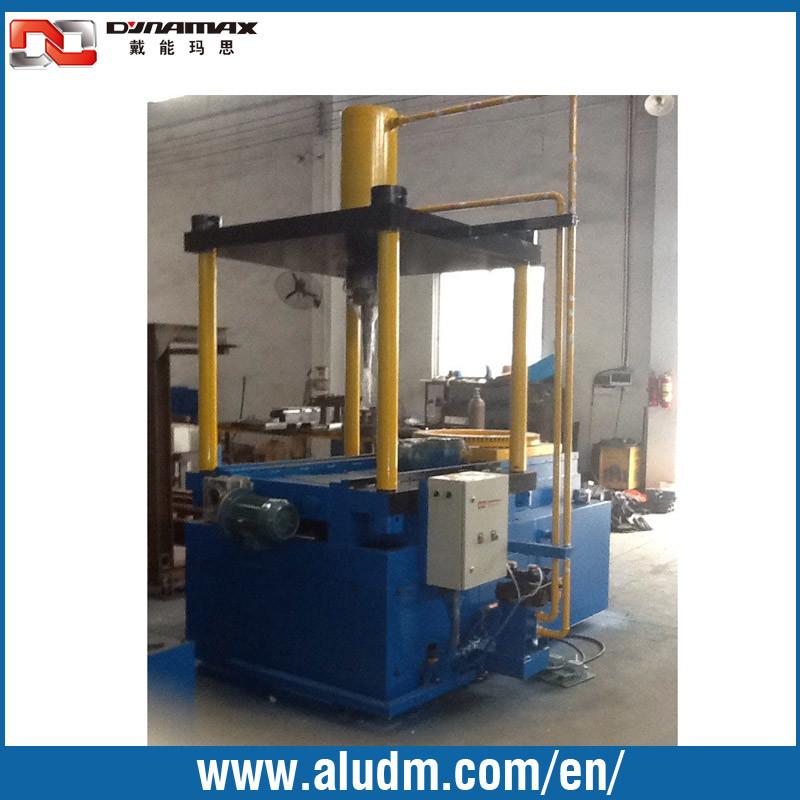 Aluminum Extrusion Machine in Aluminum Waste Cutting Machine