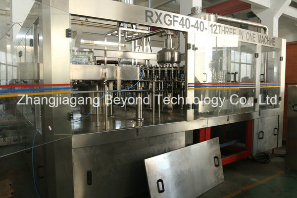 Automatic 3-in-1 Hot Juice Pet Bottle Filling Production Line with Ce