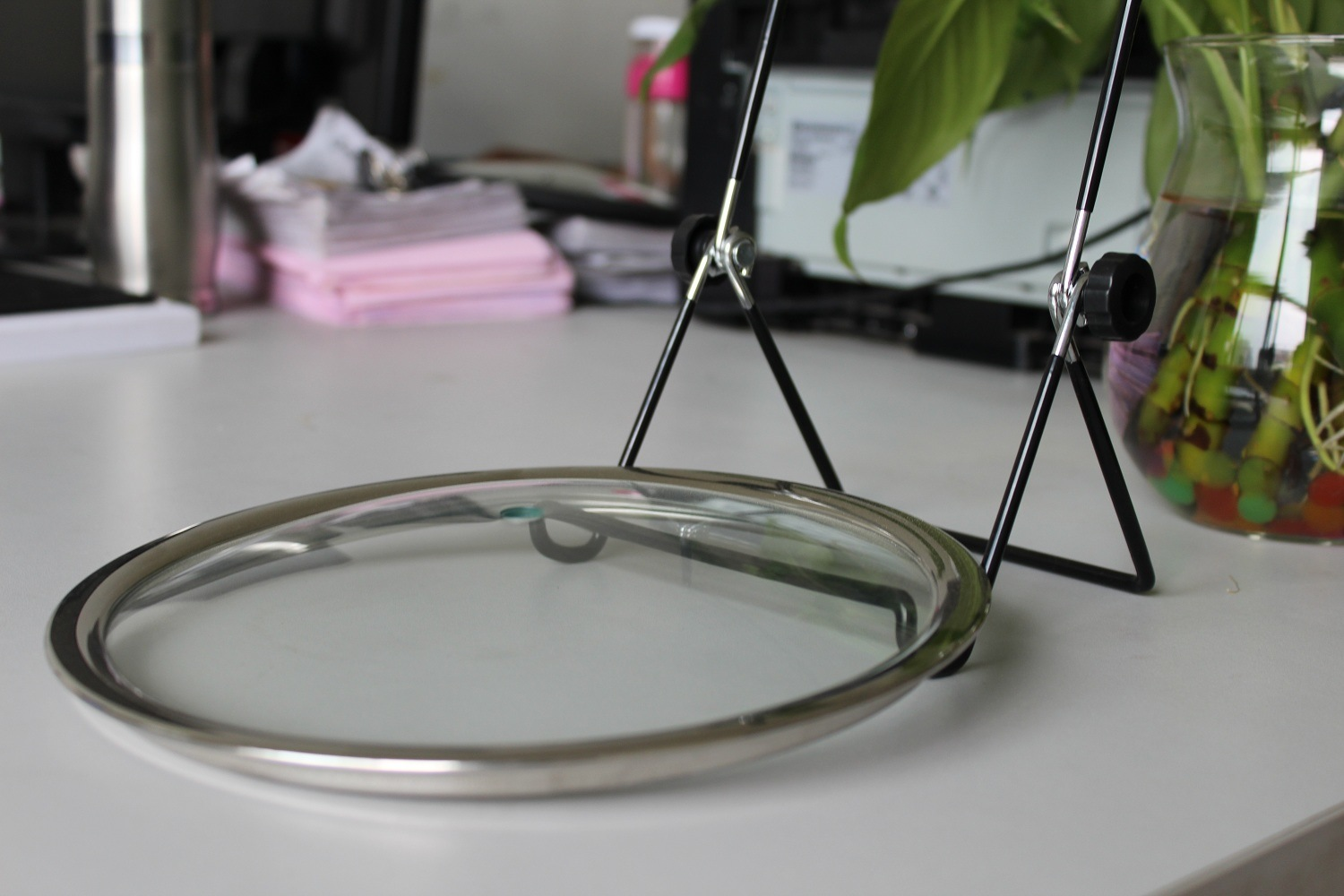T-Type Seamless Tempered Glass Lid
