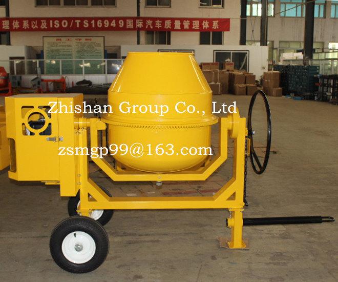 Cm350 (CM50-CM800) Zhishan Electric Gasoline Diesel Portable Concrete Mixer