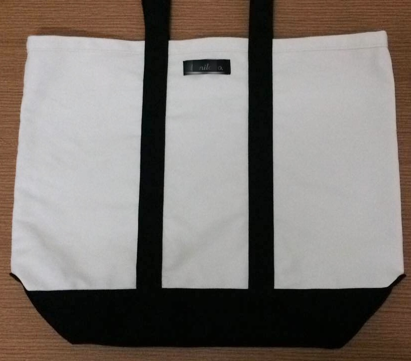 16oz Luxury Fashion Canvas Shopping Handle Bags for Ladies