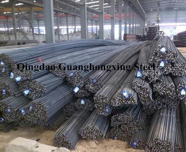Hrb 500, ASTM A615, BS4449, JIS G3112, Hot Rolled, Deformed Steel Rebar