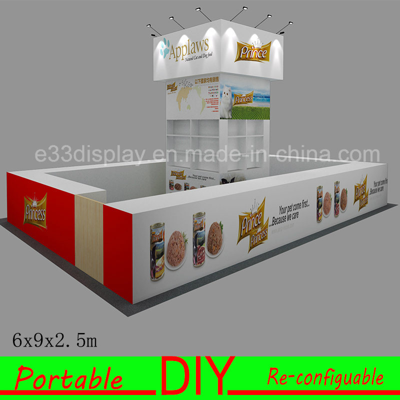 3X3m Upgrade to 3X6m 6X6m 6X9m Portable Modular Exhibition Stands