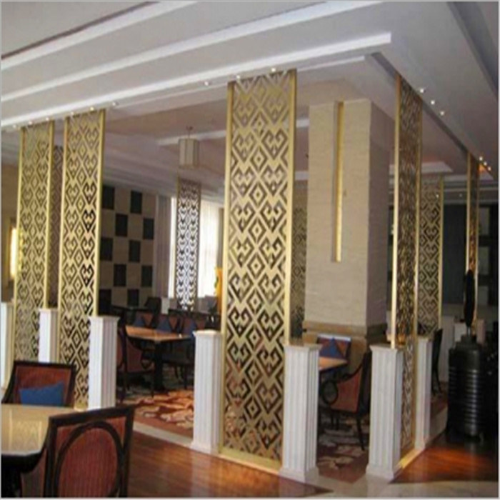 Modern Design High Quality Metal Decorative Room Screen TV Background Wall Screen Made in China