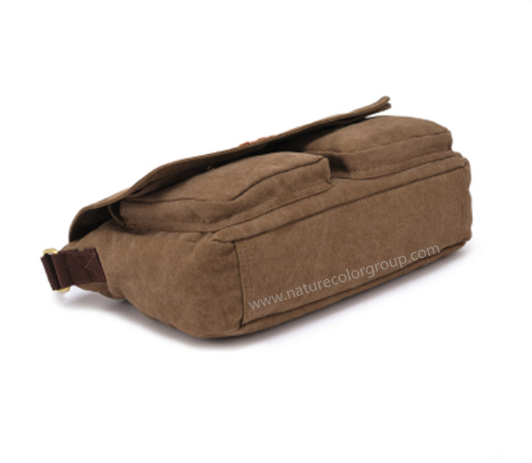 Fashion Canvas Shoulder Messenger Bag for Man