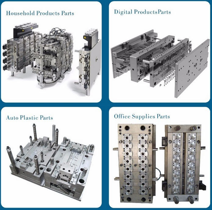 Custom-Made Injection Moulded Plastic Parts