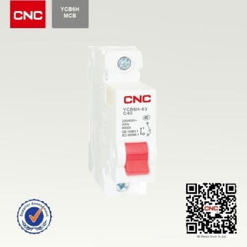 Nice Shape Good Quanlity Ycb6h 1p 32A MCB
