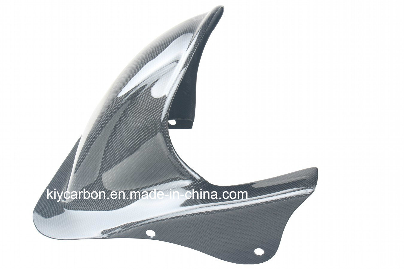 Carbon Fiber Rear Hugger with Chainguard for Honda