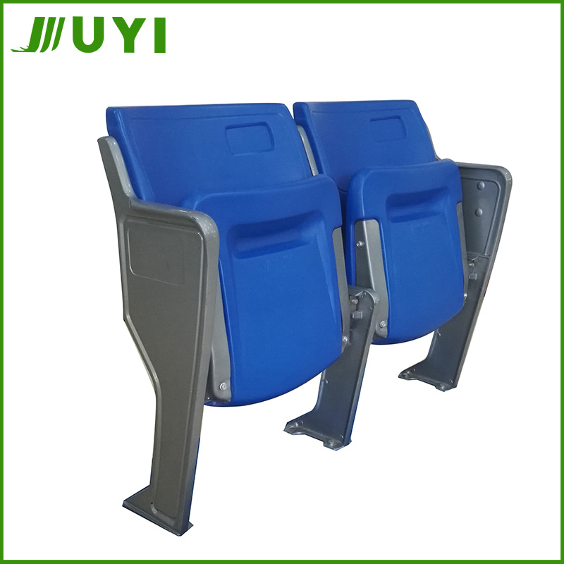 New HDPE Plastic Used Molded Stadium Seat with Back Blm-4151