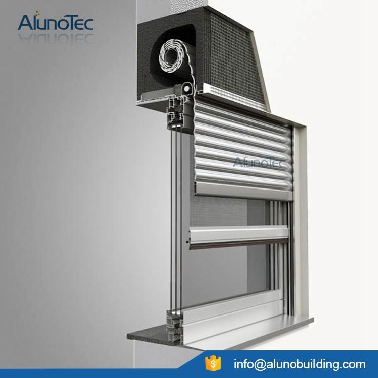 Move up Aluminum Shutter Blade Roller Windows