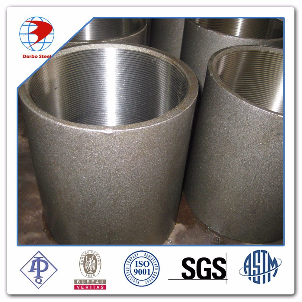 ASME/ANSI B16.9 A105 A234/A403 Carbon and Stainless Steel Threaded Full Coupling Pipe Fittings