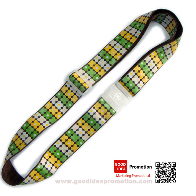 Polyester Luggage Belt with Custom Logo