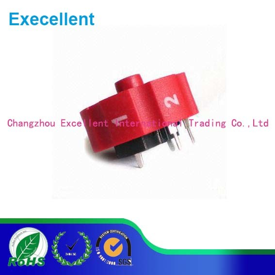 Rotary Potentiometer with Switch Used for Electronic Tools