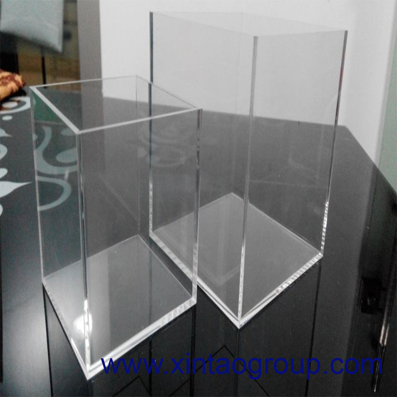 Clear Acrylic Display Box with Custom Designs