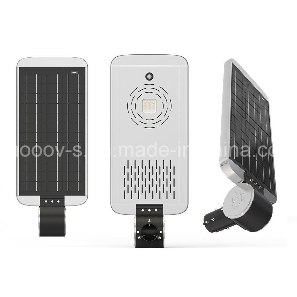 20W All in One Integrated LED Solar Street Light with Infrared Induction