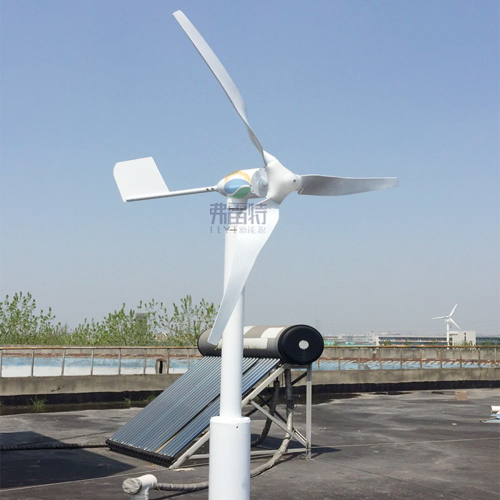 600W off Grid Wind Turbine Generator with Controller and Inverter