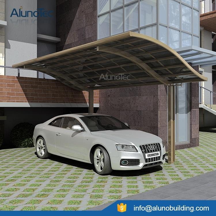 Modern Durable Aluminum Polycarbonate Car Garage Carport