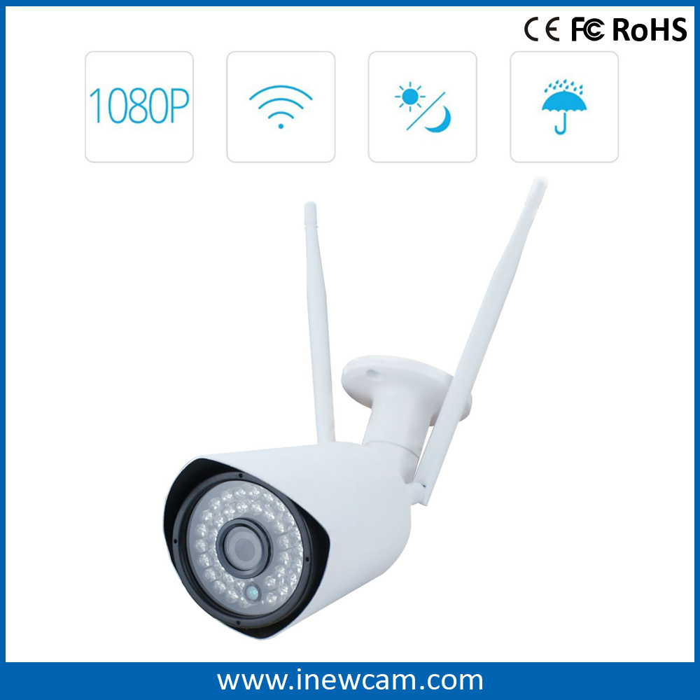 Outdoor 1080P HD P2p Night Vision Wireless Security IP Camera