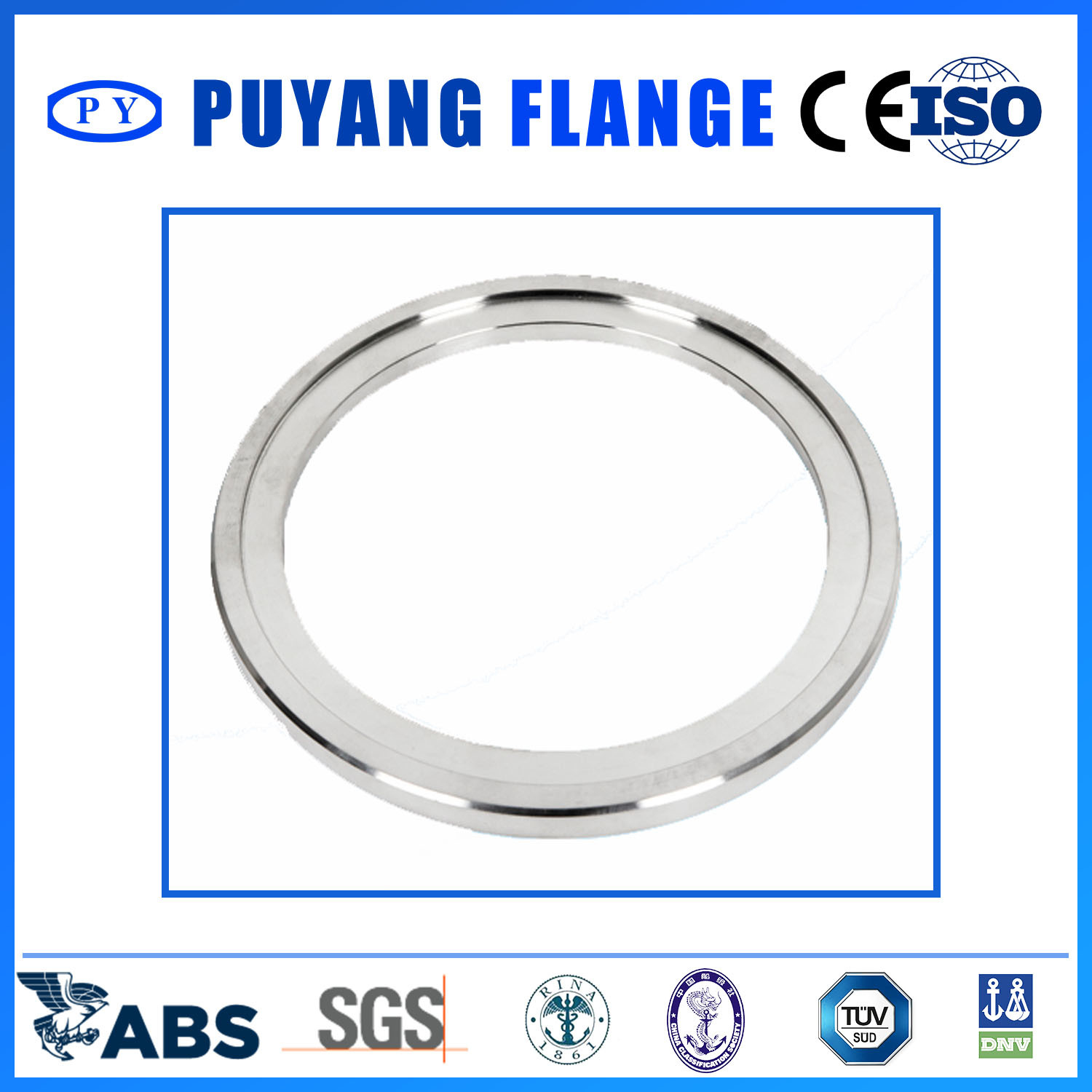 Forged Stainless Steel Plate Flange 304