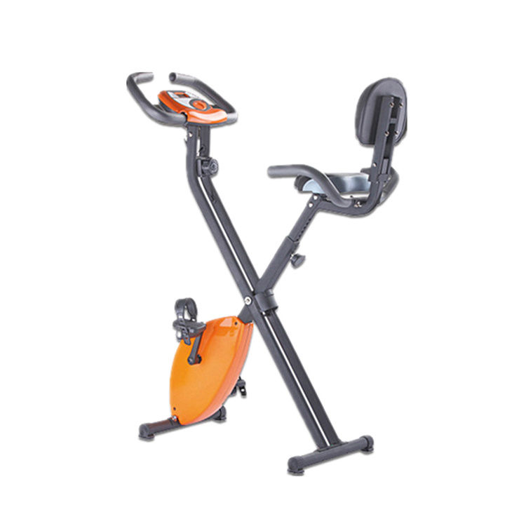 Folding Upright Magnetic Exercise X-Bike