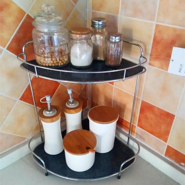 2 Layers Metal Wire Kitchen Dish Rack