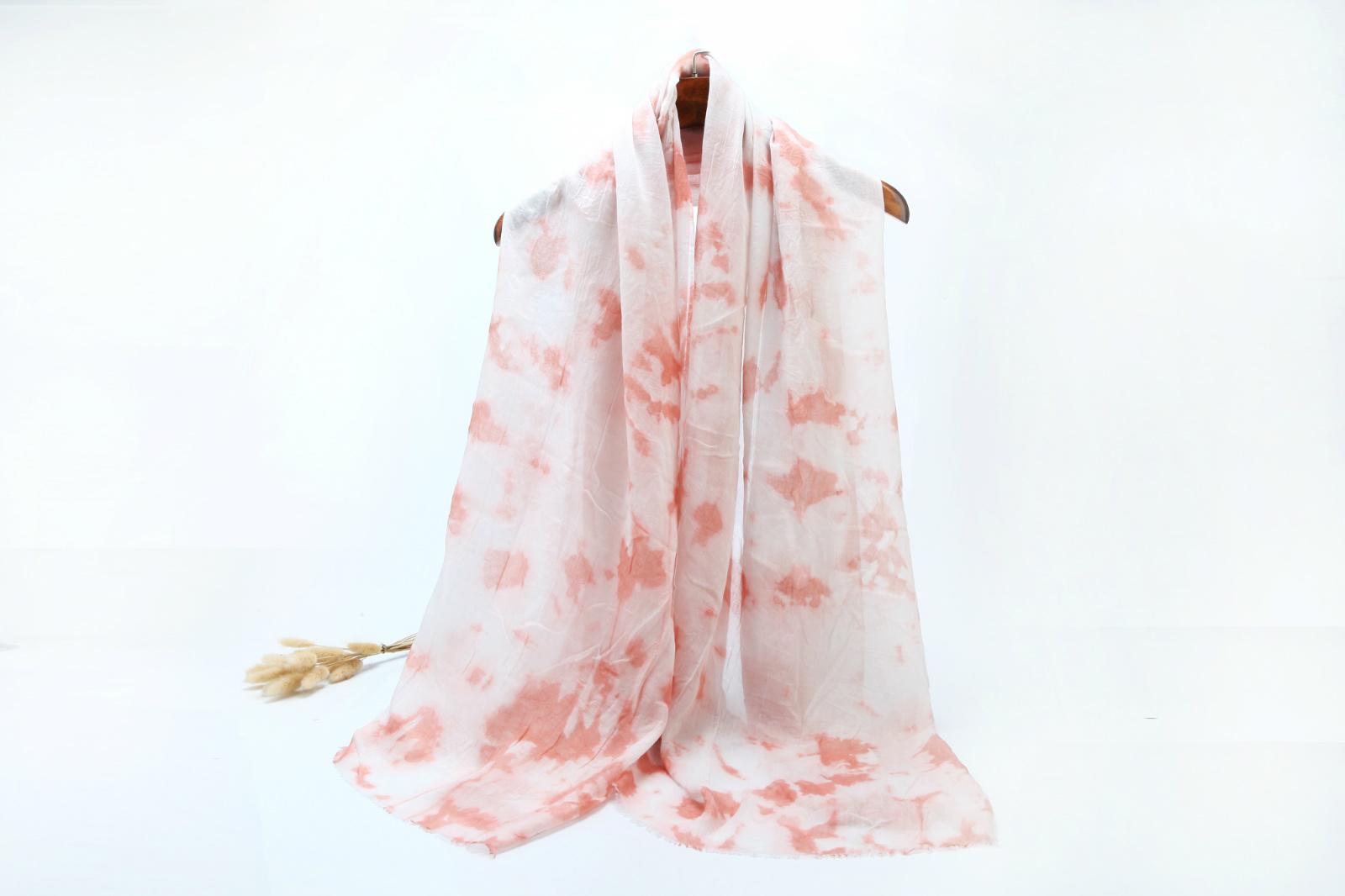 Colorful Elegant Tie Dyed Muslim Hijab