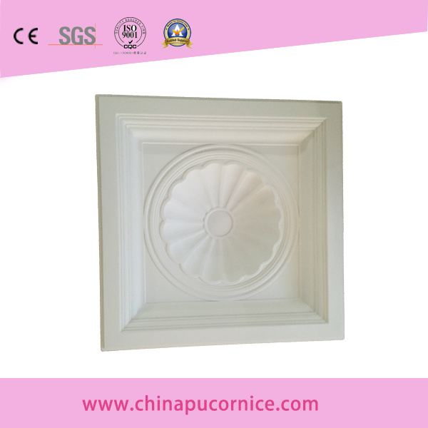 Decorative PU Ceiling Medallion for Interior Decor