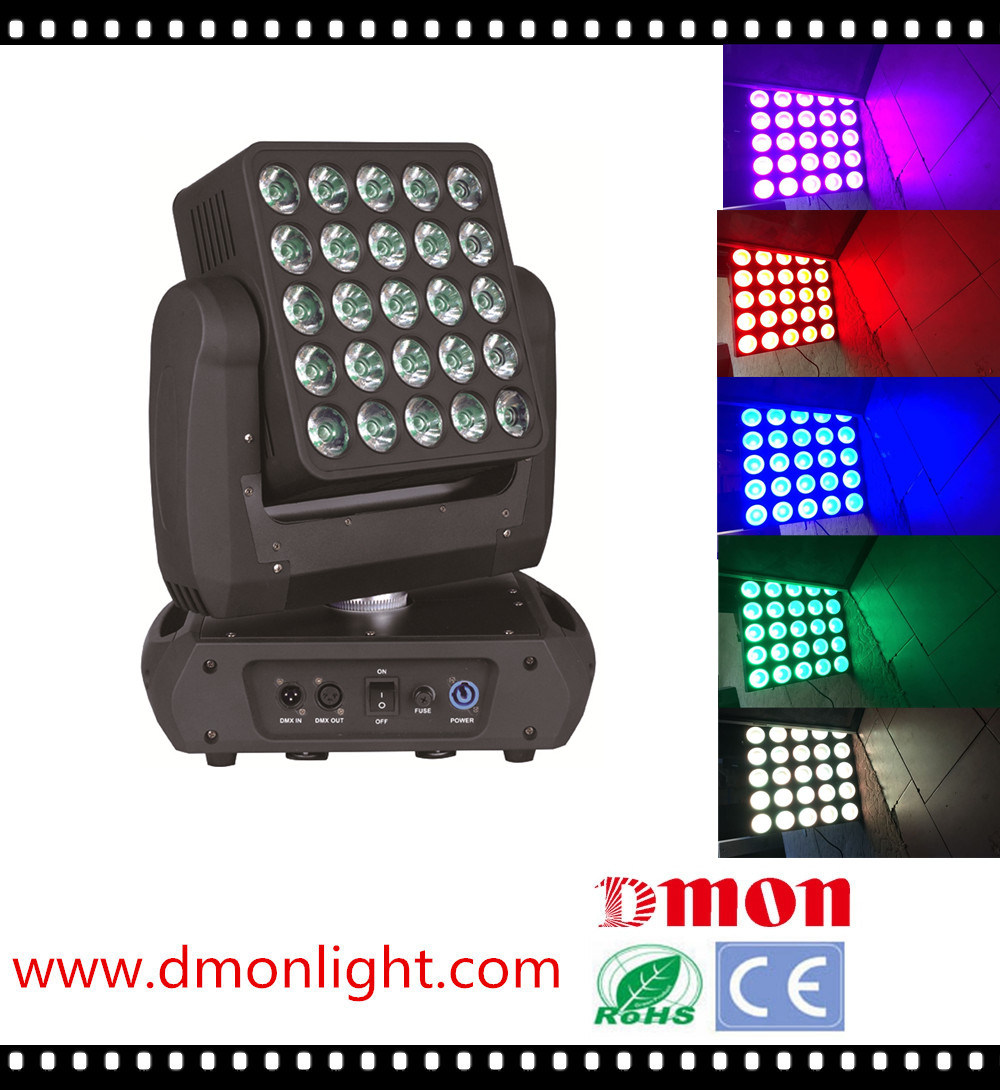 Performance 25*10W Matrix LED Moving Head Light
