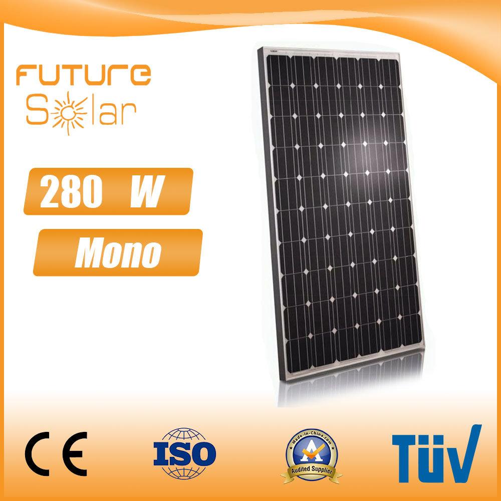 Futuresolar Full Power 280W Mono Solar Panels with Factory Price