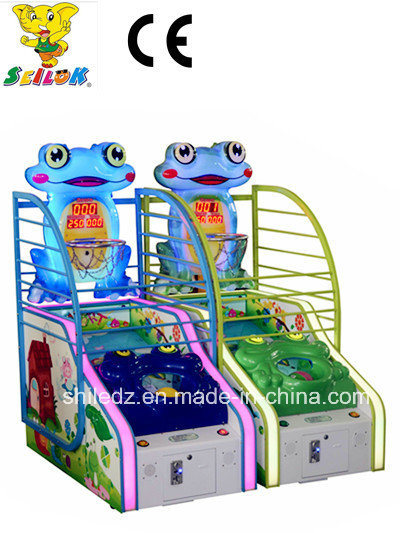 Hot Sale! ! ! 2017 New Arrival Coin-Oerated Frog Basketbal Amusement Game Machine Big Sale Frog-N-Ball Games Arcade Mini Basket Ball Arcade Machine Battle Ball