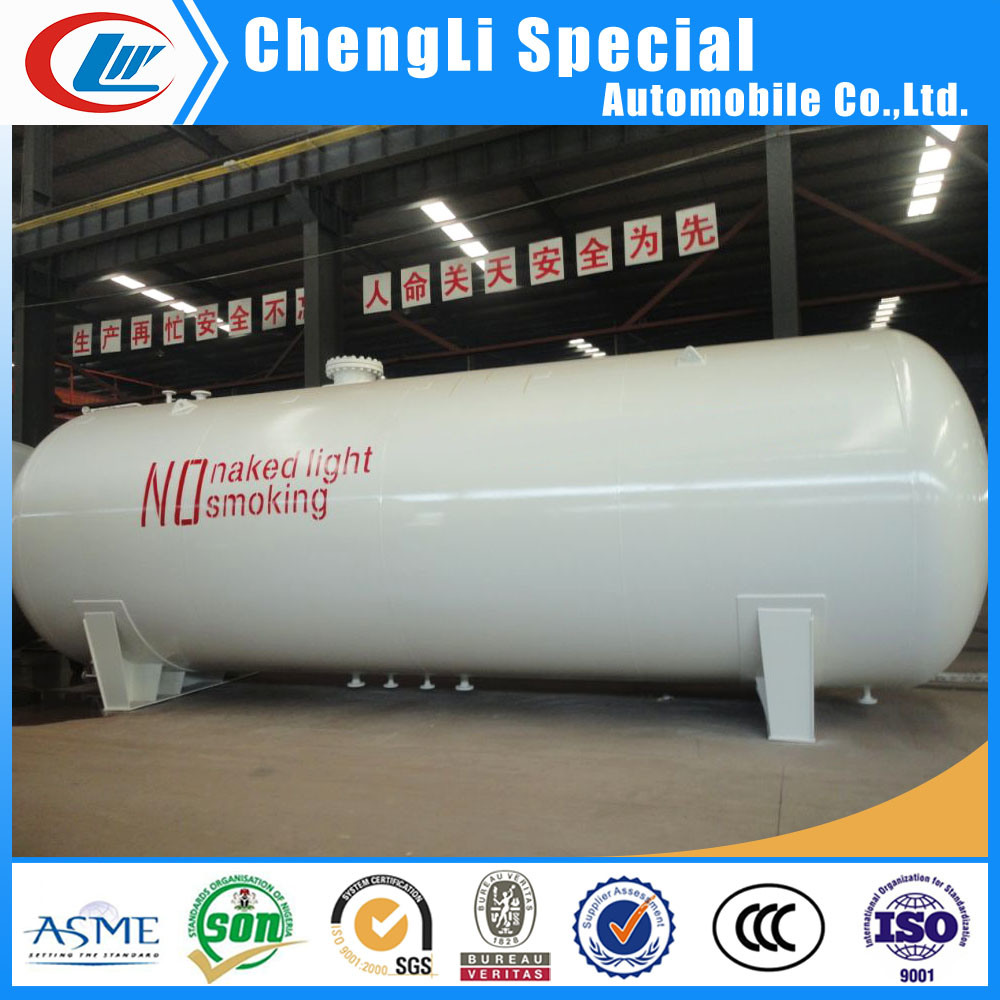 ASME 50000 Litres LPG Gas Storage Tank 25mt for Sale