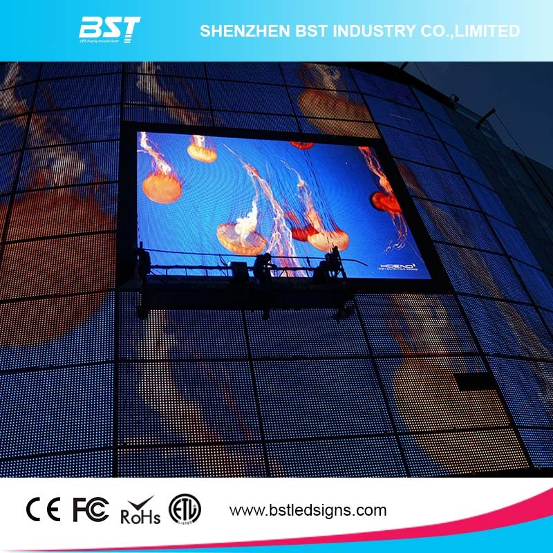 Energy Saving P10 Outdoor Full Color Fixed LED Video Wall Billboard for Commercial Advertising pictures & photos